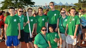 Flying Turtles Swim Fast at Special Olympics