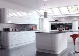 high gloss white kitchen doors enlarge image