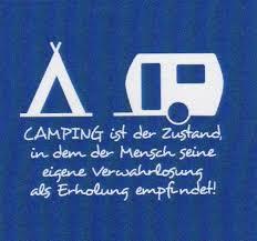 Camping Ist Der Zustand Sonjas Servietten Shop