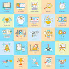 set of thin line icons of alarm clock finance organization set of thin line icons of alarm clock finance organization smart decision cloud