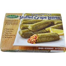 Frankly Fresh Vegetarian Stuffed Grape Leaves From Costco In