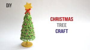 Christmas Tree from cotton swab |Q-Tips craft| ||Creative Indian Arts|| #59