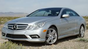 First Drive: 2010 Mercedes-Benz E-Class Coupe Photo Gallery - Autoblog