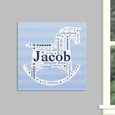 personalized infinity symbol wall canvas personalized baby gifts for boys on personalized wall canvas baby with personalized baby picture frames canvas prints giftsforyounow