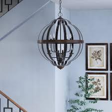 joon indoor light led globe chandelier amazing globe chandelier