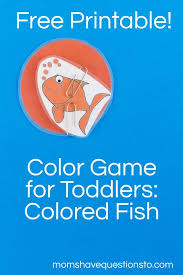 My favorite game on the list is the transportation matching game. Color Games For Toddlers Part 5 Colored Fishies Moms Have Questions Too
