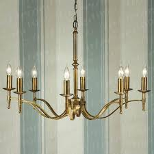 stratton antique brass 8 light chandelier