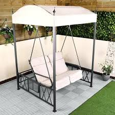 2 seater garden swing cushioned 2 swing seat 2 seater garden swing seat cover