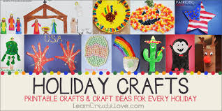 Holiday Crafts | LearnCreateLove