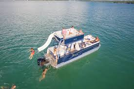 2016 avalon paradise funship pontoon boat slide