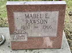 Mabel Eleda Graham Rawson (1887-1966) - Find A Grave Memorial