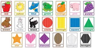 shapes and colors for toddlers. Wonderful Shapes Amazoncom Colors And Shapes Bulletin Board Poster Scholastic Office  Products To Shapes And For Toddlers I