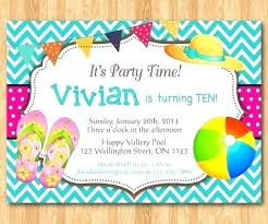 Free Pool Party Invitations Printable Birthday Party Invitations Free Zoli Koze