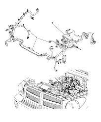 2007 dodge durango wiring headl dash diagram i2165540