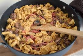 you ll love the flavor binations in this simple sausage pasta skillet meal