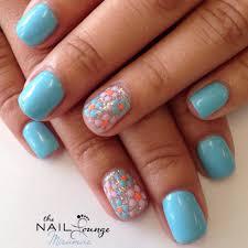 Gel Nails Designs Ideas spring gel nail art design