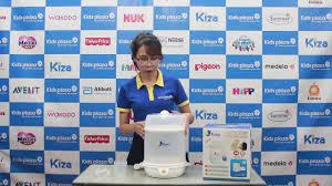 Máy tiệt trùng bình sữa Kiza Electric KZ202 - Kids Plaza