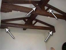 diy lighting truss. installing beams as a truss diy instructions diy lighting