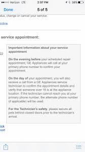 Ge Appliances Service General Electric On Twitter Utglover Tyler Were So Sorry This