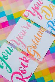 Free Printable Thank You Postcards 5 Fun Free Printable Thank You Cards In A Modern Colourful