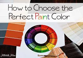 how to choose paint colorsHow to Pick the Perfect Wall Color  TIDBITSTWINE