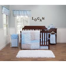 trend lab logan three piece crib bedding set hover to zoom