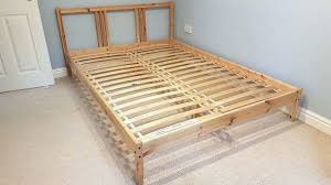 ikea fjellse double pine bed frame