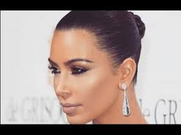 kim k makeup tutorial 2016 mugeek vidalondon kim kardashian bronze smokey eye