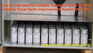 how to convert capacitor farads into kvar vice versa how to convert capacitor farads into kvar vice versa for power factor improvement