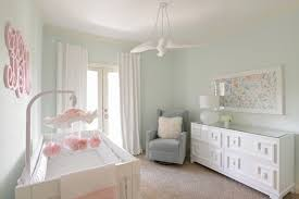 green baby furniture. Girl\u0027s Nursery - Contemporary With Mint Green, White And Peach Colors Contemporary-nursery Green Baby Furniture N