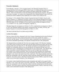 Accident Report Sample Under Fontanacountryinn Com