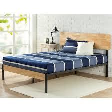 wood and metal platform bed. Fine Wood Priage Tuscan Metal And Wood Platform Bed And