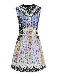 Peter Pilotto Size Chart Peter Pilotto Digital Print Mini Dress