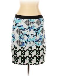 Details About Peter Pilotto For Target Women Black Casual Skirt 14 Uk