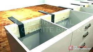 n dishwasher bracket for granite mounting kit countertop quartz s