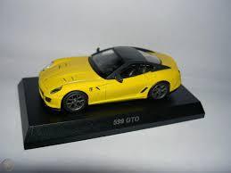 Ferrari 599 gto coupe 2011 köln, germany. 1 64 Kyosho Ferrari 599 Gto Yellow 1933013928