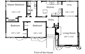 house plan l shaped 3 bedroom house plans free dwg house plans