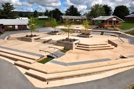 Backyard Skatepark Designs The Target Plaza Created By California Skateparks Skate