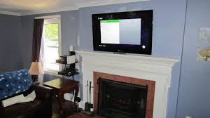 large size of bristol ct tv over fireplace with wires concealed how to hide from flat