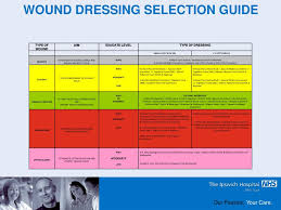 Ppt Wound Management And Dressing Selection Powerpoint