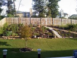 Small Picture Steep Sloped Back Yard Landscaping Ideas Should we install a