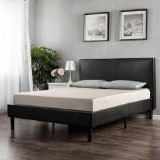 faux leather platform bed.  Leather This Review Is FromDeluxe Upholstered Faux Leather Espresso Full Platform  Bed Throughout A