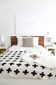 easy ikea diy wooden headboard with stikwood