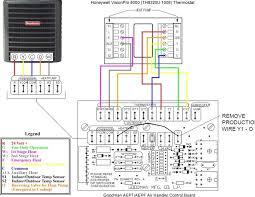 goodman heat pump thermostat wiring diagram honeywell heat pump thermostat wiring diagram at Heat Pump Thermostat Wiring Diagrams