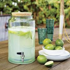 glass beverage dispenser with metal spigot in decor 10 hbocsm com throughout prepare 6
