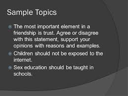 argumentative essay ppt  3 sample