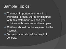 argumentative essay ppt 3 sample