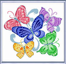 Cross Stitching Patterns Cool Spring Butterflies Cross Stitch Pattern Butterfly