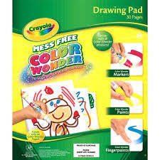 Small Picture Crayola Color Wonder Refill Paper Pad Walmartcom