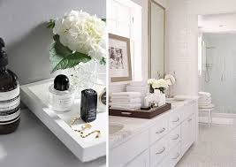 Decorative Bathroom Tray Organize Your Bathroom Vanity Like A Pro Beautiful Mess Inside 56